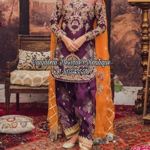 Buy Salwar Suit Punjabi In Canada