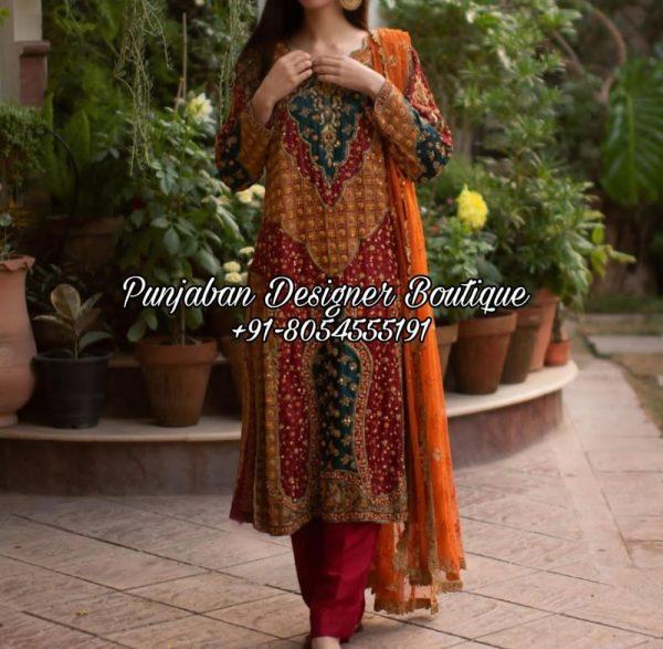 Buy Salwar Suit Punjabi UK