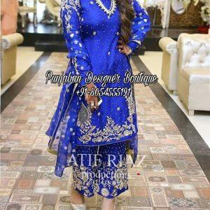 Punjabi Suit With Palazzo