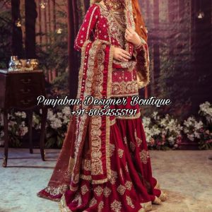 Trending Sharara Suits For Bride