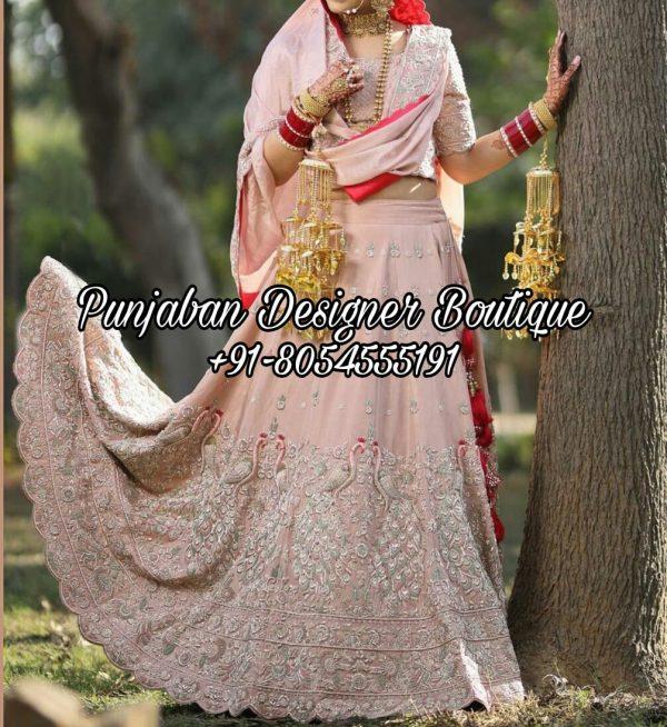 Buy Bridal Lehenga Online USA UK