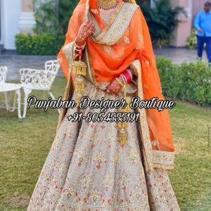 Buy Designer Bridal Lehenga Online