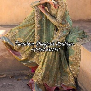 Buy Punjabi Sharara Suits Designer