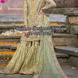 Buy Sharara Suits For Wedding UK USA