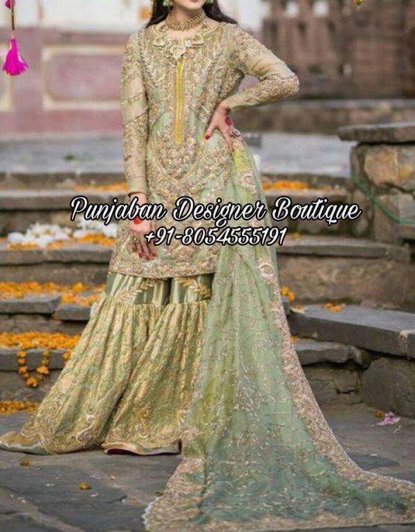 Buy Sharara Suits For Wedding UK USA