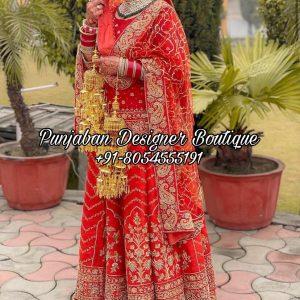 Buy Bridal Lehenga For Receptions Canada