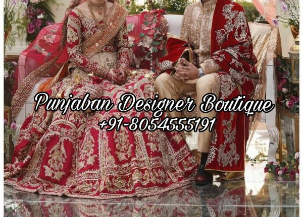 Buy Designer Bridal Lehenga USA