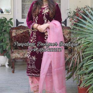 Buy Punjabi Boutique Suits Online