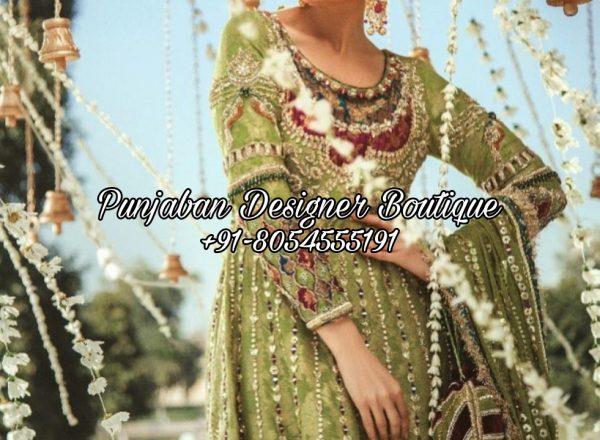 Buy Punjabi Suits Party Wear