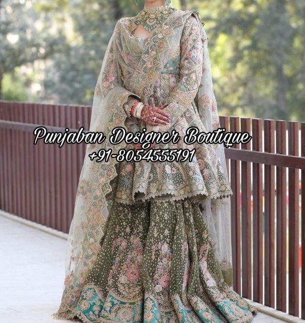Buy Sharara Suits Wedding
