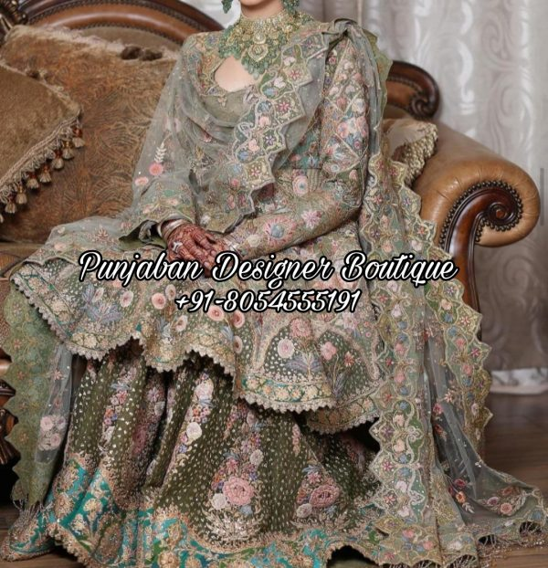 Buy Sharara Suits Wedding USA UK