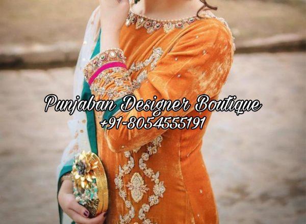 Designer Punjabi Suits Boutique Canada