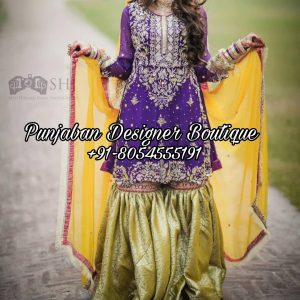 Party Wear Punjabi Sharara Suits