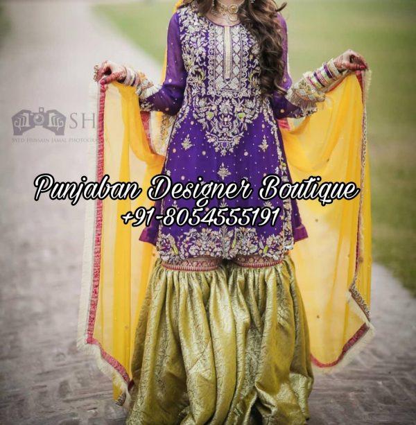 Party Wear Punjabi Sharara Suits