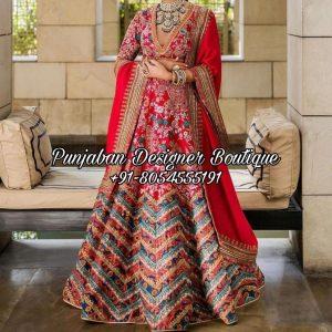 Punjabi Lehenga For Wedding UK USA