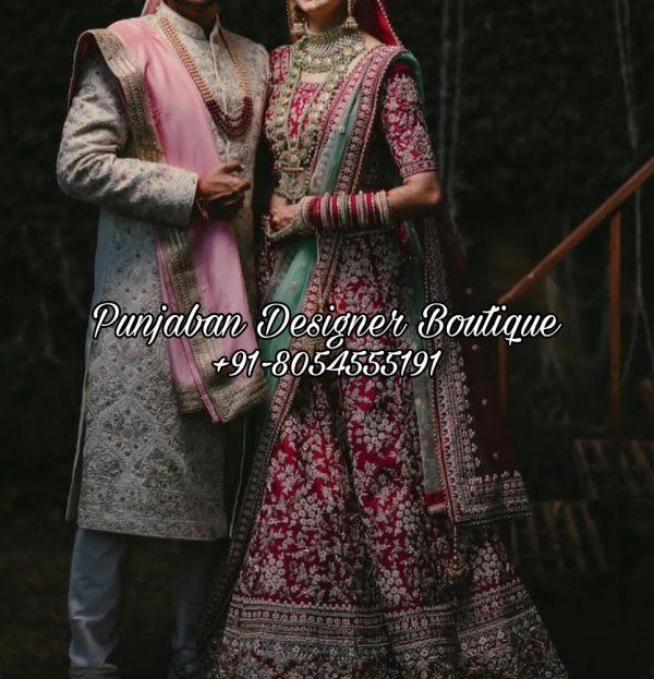 Red Bridal Lehenga Online Canada USA UK