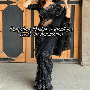 Saree With Designer Blouse USA
