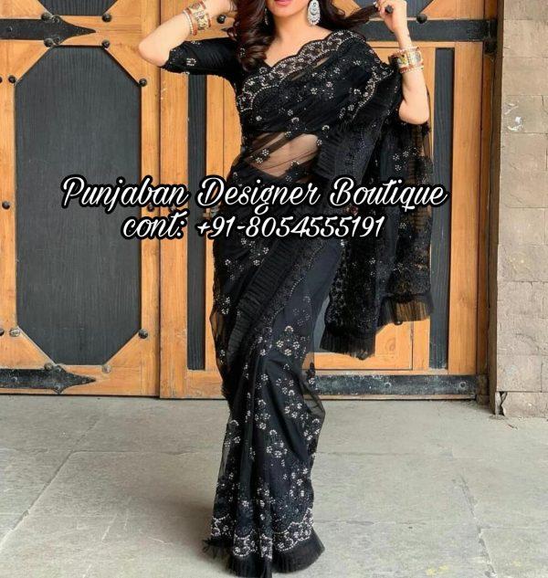 Saree With Designer Blouse USA