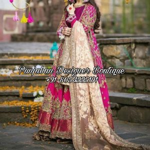 Anarkali Suits For Wedding USA