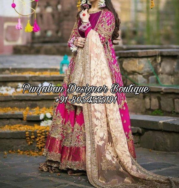 Anarkali Suits For Wedding USA