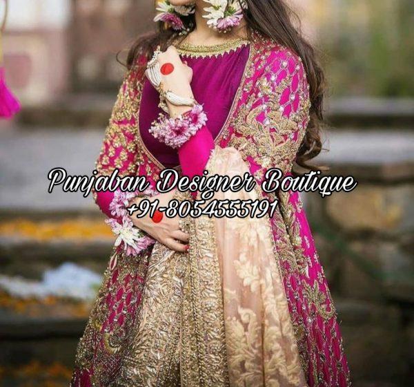 Anarkali Suits For Wedding USA UK
