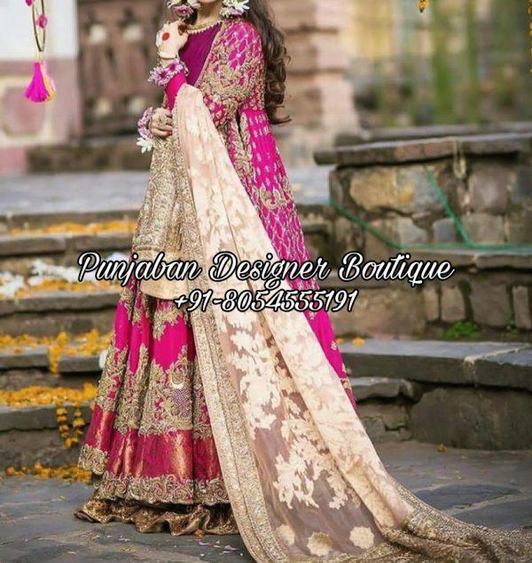 Anarkali Suits For Wedding USA UK Canada