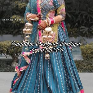 Buy Punjabi Lehenga Dress USA Canada