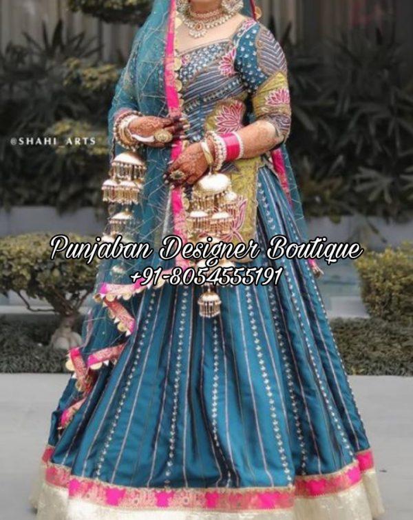 Buy Punjabi Lehenga Dress USA Canada