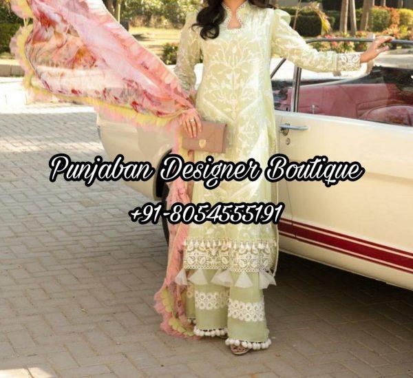 Buy Punjabi Suits With Plazo USA