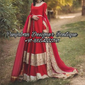 Design For Anarkali Suits Canada