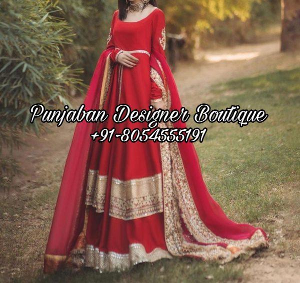 Design For Anarkali Suits Canada