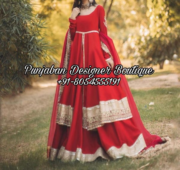 Design For Anarkali Suits Canada USA