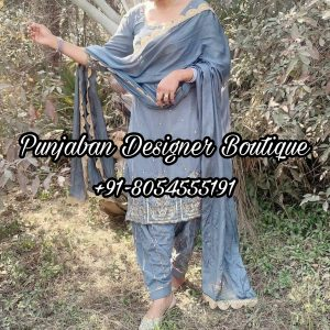 Party Wear Punjabi Suits Design