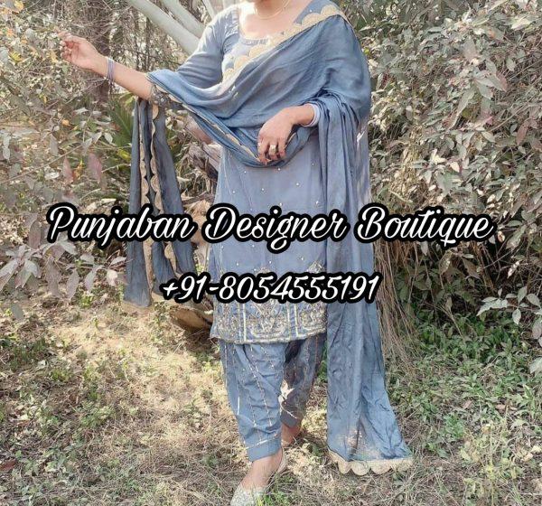 Party Wear Punjabi Suits Design