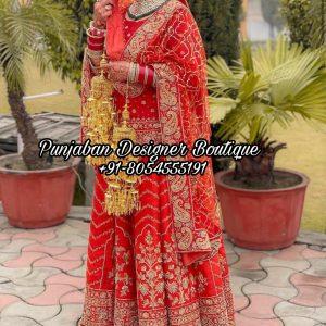Wedding Designer Lehenga With Price USA Canada