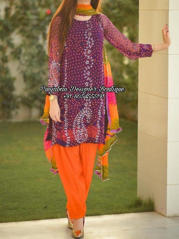 Boutique Suit Punjabi Canada UK