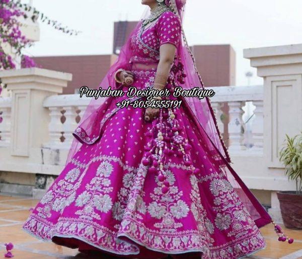 Bridal Lehenga Designs USA UK
