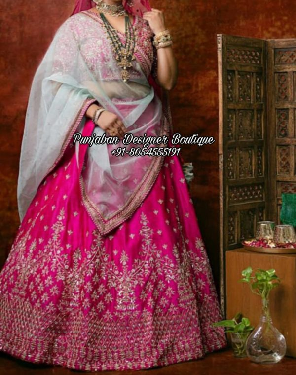 Buy Lehenga For Wedding Bride USA