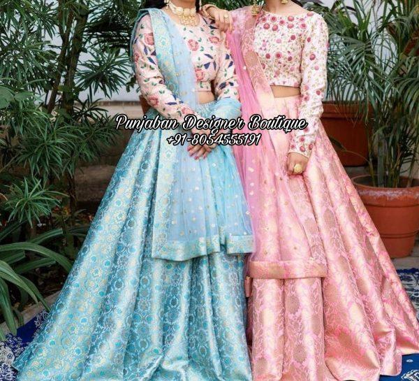 Buy Wedding Lehenga For Bride UK Canada, Punjaban Designer Boutique