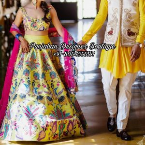 Designer Lehenga For Bride UK USA
