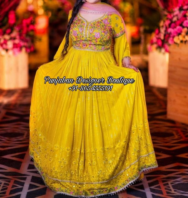 Latest Design Anarkali Suits Australia UK USA