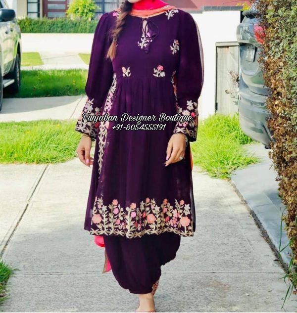 Punjabi Salwar Suits Canada UK