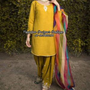 Salwar Suit Punjabi Canada USA