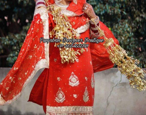 Wedding Punjabi Suits Canada UK USA