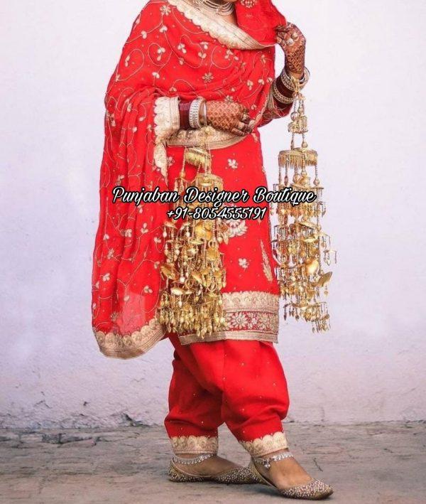 Wedding Punjabi Suits Canada UK USA Australia Italy
