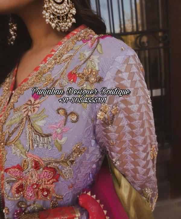 Wedding Punjabi Suits Canada USA