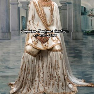 White Sharara Suits UK