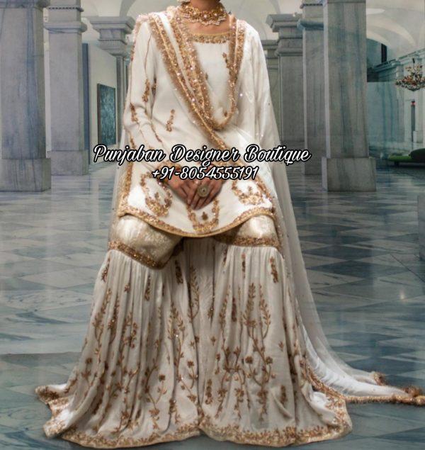 White Sharara Suits UK