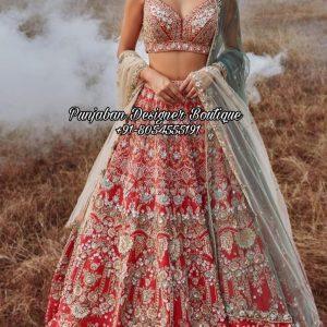 Bridal Lehenga Reception UK