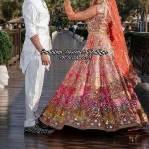 Online Wedding Lehenga Designs UK USA